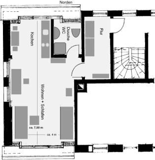 1 zimmerwohnung in n rnberg st. Black Bedroom Furniture Sets. Home Design Ideas
